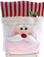 Недорогие -Накидка на стул Праздник Ткань куб Оригинальные Рождественские украшения