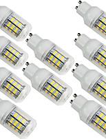 Недорогие -10 шт. 3.5 W LED лампы типа Корн Двухштырьковые LED лампы 350 lm E14 G9 GU10 60 Светодиодные бусины SMD 2835 Тёплый белый Белый 220-240 V