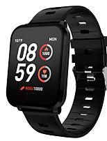 Недорогие -K10 Smart Watch BT Поддержка фитнес-трекер уведомить / артериальное давление / монитор сердечного ритма Спорт SmartWatch совместимые телефоны IOS / Android