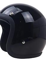 Недорогие -3/4 стекловолокна высокопрочный винтажный мотоциклетный шлем