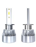 Недорогие -2pcs H1 Автомобиль Лампы Светодиодная лампа Налобный фонарь Назначение Универсальный Все года