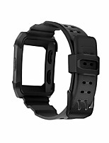 Недорогие -Ремешок для часов для Fitbit ionic Fitbit Спортивный ремешок силиконовый Повязка на запястье