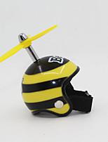 Недорогие -мотоциклетные шлемы брелок бамбук стрекоза защитный шлем автомобиль брелок цепь подарок