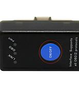 Недорогие -диагностический инструмент obd2 электроинструмент elm327 автомобильный сканер multimarcas obd2 сканер obd2