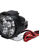Недорогие -Прожектор мотоцикла вспомогательное транспортное средство фара противотуманная фара 6led прожектор 1 * 22 мм переключатель