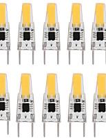 Недорогие -10 шт. 3 W Двухштырьковые LED лампы 300 lm G8 T 1 Светодиодные бусины COB Диммируемая Новый дизайн Тёплый белый Белый 110-120 V