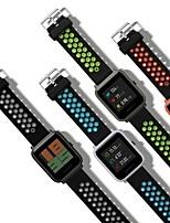Недорогие -Ремешок для часов для Huami Amazfit Bip Younth Watch Xiaomi Классическая застежка Натуральная кожа Повязка на запястье