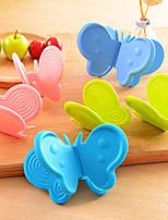 Недорогие -кремнийорганическая резина Перчатка Heatproof Кухонная утварь Инструменты Повседневное использование Необычные гаджеты для кухни Печь 2pcs