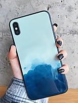Недорогие -Кейс для Назначение SSamsung Galaxy S9 / S9 Plus / S8 Plus Зеркальная поверхность / Ультратонкий / С узором Кейс на заднюю панель Пейзаж ТПУ