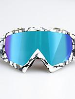 Недорогие -уникальные мотоциклетные очки для беговых лыж очки для велоспорта очки для занятий спортом на открытом воздухе рамка рама colorzebra - разноцветные линзы