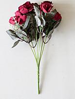 Недорогие -Искусственные Цветы 2 Филиал Классический Modern Пастораль Стиль Розы Вечные цветы Букеты на стол