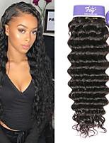 Недорогие -3 Связки Бирманские волосы Глубокий курчавый Не подвергавшиеся окрашиванию Необработанные натуральные волосы Человека ткет Волосы Удлинитель Пучок волос 8-28 дюймовый Нейтральный