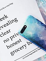 Недорогие -чехол для яблока iphone xs / iphone xr / iphone xs max ультратонкий / рисунок с задней крышкой небо / цветной градиент тпу