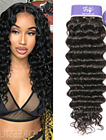 Недорогие -3 Связки Бразильские волосы Крупные кудри человеческие волосы Remy 100% Remy Hair Weave Bundles Человека ткет Волосы Удлинитель Пучок волос 8-28 дюймовый Нейтральный Ткет человеческих волос