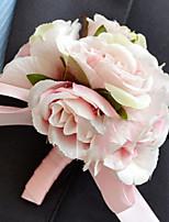 Недорогие -Искусственные Цветы 1 Филиал Односпальный комплект (Ш 150 x Д 200 см) Свадебные цветы Розы