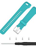 Недорогие -ремешок для часов для vivosmart hr + (плюс) garmin sport band силиконовый ремешок на запястье