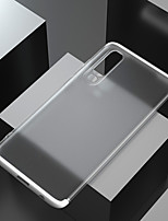 Недорогие -чехол для apple iphone xs / iphone xr / iphone xs / 7 8plus / 6splus max ударопрочный / матовый / полупрозрачный задняя крышка однотонный / прозрачный пк