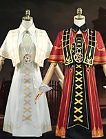 Недорогие -Вдохновлен Идентичность V Косплей Аниме Косплэй костюмы Японский Косплей Костюмы Платье / Воротник-шаль / Перчатки Назначение Жен.