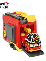 Недорогие -Игрушечные машинки Пожарная машина Робот трансформируемый Очаровательный обожаемый ПВХ / винил Дети Детские Все Игрушки Подарок