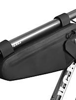 Недорогие -2 L Бардачок на раму Водонепроницаемость Компактность Водонепроницаемаямолния Велосумка/бардачок ТПУ 600D полиэстер Водонепроницаемый материал Велосумка/бардачок Велосумка Велосипедный спорт