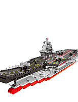 cheap -Building Blocks 1 pcs Warship compatible ABS+PC Legoing Simulation Aircraft Carrier All Toy Gift / Kids