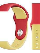 Недорогие -ремешок для часов серии apple 4/3/2/1 силиконовый ремешок для браслета apple sport band