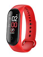 Недорогие -m4 max ips цветной экран браслет ip68 артериальное давление o2 длительное время ожидания фитнес-смарт-часы