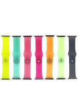 cheap -Smartwatch for Apple Watch Series 6 SE 5 4 3 2 1  Apple Sport Band New Soft Silicone Jelly Wrist Strap