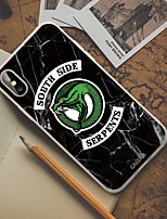 Недорогие -чехол для apple iphone x / iphone xr пылезащитный / ультратонкий / с рисунком на задней обложке мультяшный мягкий тпу / непромокаемый / личность творчество модный чехол для телефона чехол для iphone 6