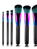 Недорогие -профессиональный Кисти для макияжа 7 шт Мягкость Новый дизайн Закрытая чашечка Милый удобный Деревянные / бамбуковые за