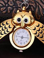 Недорогие -Муж. Карманные часы Кварцевый Старинный Творчество Новый дизайн Аналого-цифровые Винтаж - Золотой