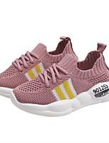 Недорогие -Мальчики Полотно Спортивная обувь Маленькие дети (4-7 лет) Удобная обувь Черный / Белый / Розовый Лето