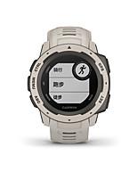 Недорогие -GARMIN® Garmin Instinct Мужчина женщина Смарт Часы Android iOS WIFI Bluetooth Водонепроницаемый Сенсорный экран GPS Пульсомер Измерение кровяного давления ЭКГ + PPG