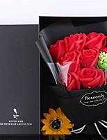 Недорогие -Искусственные Цветы 9 Филиал Классический Свадебные цветы Modern Розы Хризантема Вечные цветы Букеты на стол