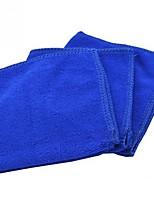 Недорогие -1 шт. Салфетка из микрофибры мягкая салфетка для полотенец 30 * 30см салфетки из микрофибры