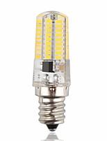 Недорогие -1шт 3 W LED лампы типа Корн 170-200 lm E14 72 Светодиодные бусины SMD 3014 Новый дизайн Декоративная Милый Тёплый белый Холодный белый 12-24 V