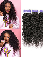 Недорогие -3 Связки Бразильские волосы Волнистые Не подвергавшиеся окрашиванию 100% Remy Hair Weave Bundles Человека ткет Волосы Удлинитель Пучок волос 8-28 дюймовый Нейтральный Ткет человеческих волос