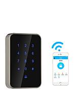 Недорогие -интеллектуальный замок из алюминиевого сплава / замок карты / замок с паролем умный дом система безопасности RFID / разблокировка паролем / приложение разблокировка дома / офиса / гостиницы деревянная