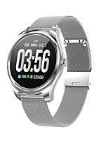 Недорогие -кимлинк s3 умные часы bt фитнес-трекер поддержка уведомлять / монитор сердечного ритма спорт из нержавеющей стали Bluetooth-совместимые SmartWatch IOS / Android телефоны