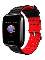 Недорогие -Indear A8 Мужчина женщина Умный браслет Android iOS Bluetooth Водонепроницаемый Сенсорный экран Пульсомер Измерение кровяного давления Спорт