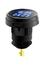 Недорогие -профессиональный датчик автомобиля ts61 датчик tpms прикуриватель контроля давления в шинах внешний жк-4 беспроводной мониторинг шин