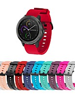 cheap -Watch Band for Vivomove / Vivomove HR / Vivoactive 3 Garmin Sport Band Silicone Wrist Strap