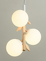 Недорогие -стеклянный шар подвесной светильник 3 лампы люстры скандинавский простой подвесной светильник для столовой кухни остров