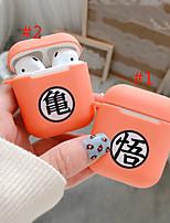 Недорогие -Защитный чехол Молодежный стиль Apple Airpods Защита от удара Скретч-доказательство кремнийорганическая резина