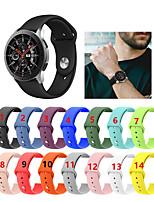 Недорогие -силиконовый спортивный браслет ремешок на запястье для samsung galaxy watch 46mm / gear s3 frontier / gear s3 classic