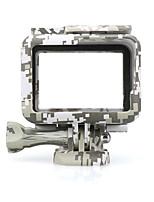 Недорогие -Гладкая Рамка Защита Для Экшн камера Gopro 6 Gopro 5 Отдых и Туризм На открытом воздухе Разные виды спорта Силикон