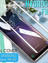 cheap -full cover soft protective hydrogel film for samsung galaxy 10 10e plus s7 s6 edge s8 s9 plus note 8 9 hd screen protector film