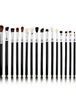 Недорогие -профессиональный Кисти для макияжа 19pcs Мягкость Закрытая чашечка удобный Деревянные / бамбуковые за Косметическая кисточка