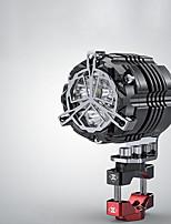Недорогие -54 мм 30 Вт мотоцикл осветительные приборы фары супер яркий мотокросс вспомогательные стробоскопы