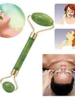 Недорогие -Джейд массажер для лица Ролик релаксация для похудения красоты инструмент для подтяжки лица